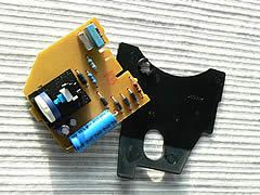Toaster Reparatur - Leiterplatte